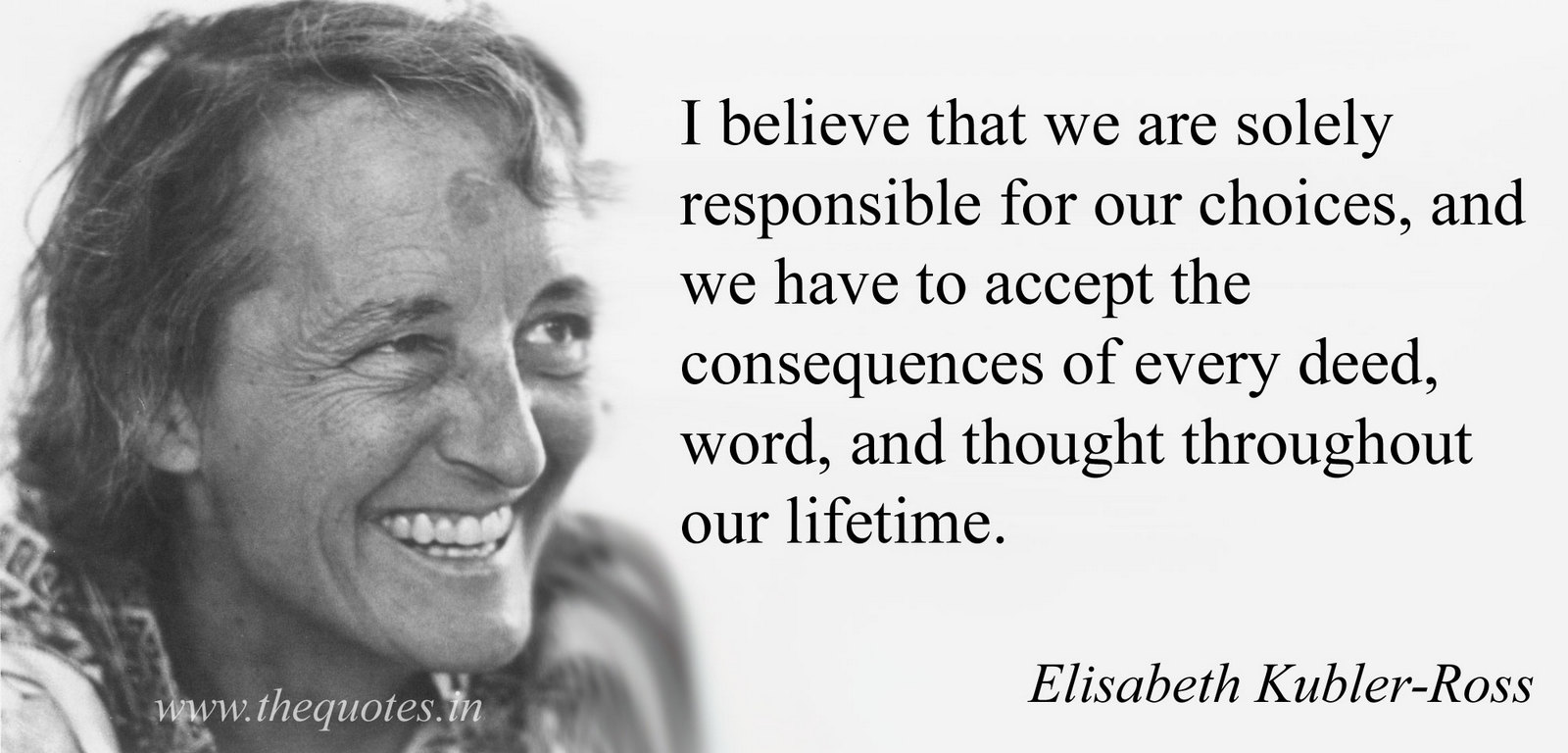 elisabeth kubler ross Tea with elisabeth tributes to hospice pioneer dr elisabeth kubler-ross, compiled by fern stewart welch, rose winters and ken ross, published by quality of life publishing co 2009 isbn.