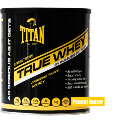 True Whey - Peanut Butter