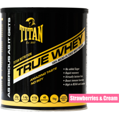 True Whey - Strawberries & Cream